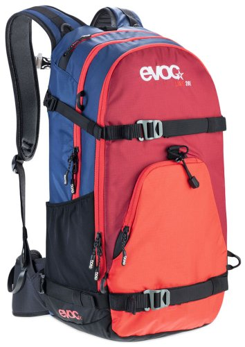 EVOC Performance Rucksack Line Navy-Red-Ruby