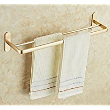 Mmhy perforato alluminio porta asciugamani bagno bagno portasciugamani spazio Widening luce asciugamano da appendere nail-free asciugamano bar, bright your life B