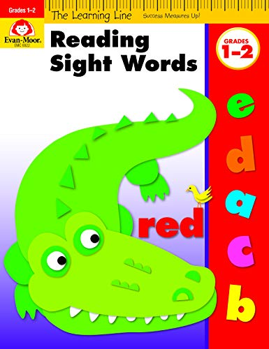 Reading Sight Words, Grades 1-2 (Learning Line)