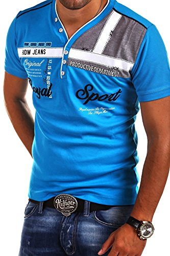 MT Styles 2in1 T-Shirt ROYAL R-2206 Hellblau