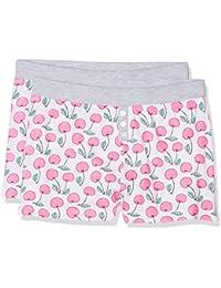 Lina Pink EF.Banana.Sho.MZ, Paquete con 2 Pantalones de Pijama para Niña