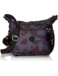 Kipling Large School Messengerbag (Across Body) - GABBIE Floral Night,F