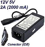 Cargador Corriente 12V Reemplazo Disco Duro Toshiba DWC130 3TB HDWC130EK3J1 Recambio Replacement