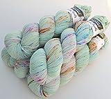 Hedgehog fibres Sporty Mérinos–FB. Monet, 100g laine mérinos handgefärbt couleur brillante
