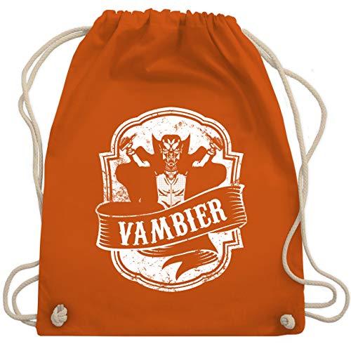 Statement Shirts - Vambier - Unisize - Orange - WM110 - Turnbeutel & Gym Bag