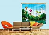 AG Design Gardine/Vorhang FCS XL 4317 Kinderzimmer Disney Fairies