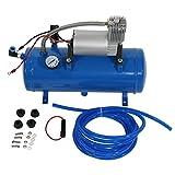 Pompe portative de compresseur d'air 150 PSI, CC 12V de gonfleur avec un plus grand débit d'air,...