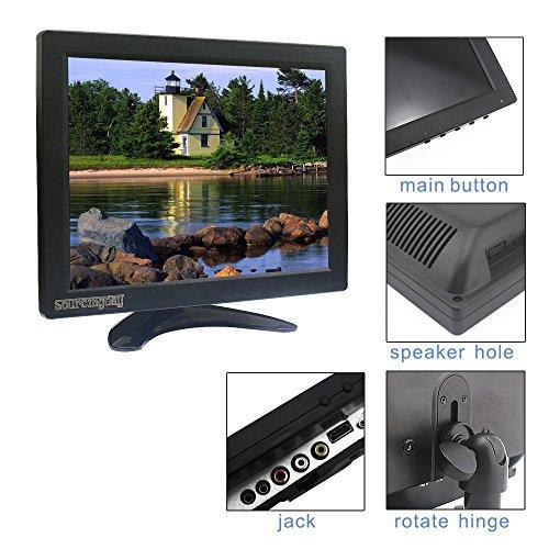 Sourcingbay 101 Inch CCTV TFT LCD Monitor by suggests of  AV HDMI BNC VGA reviews Black Monitors