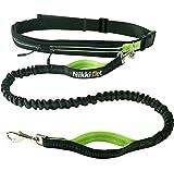 Jogging Hundeleine | Sport Laufgürtel, wasserabweisend | Leine elastisch, reflektierend 120 cm Flexi | gratis eBook