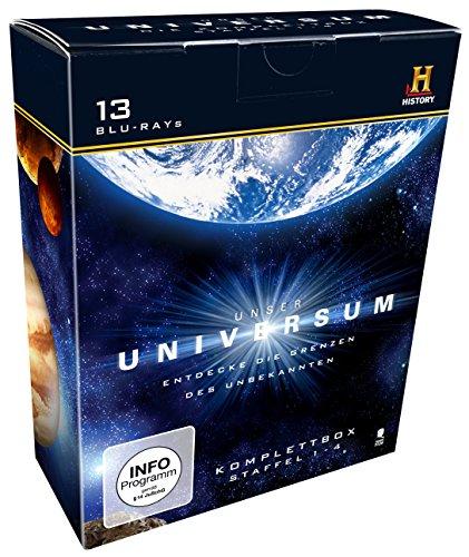 Preisvergleich Produktbild Unser Universum - Die Komplettbox, Staffel 1-4 (History) [Blu-ray]