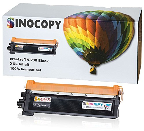 SinoCopy Black XXL Toner kompatibel für Brother TN-230 HL-3040N HL-3040CN HL-3070CN HL-3070CW MFC-9120CN MFC-9320CW DCP-9010CN