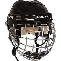 Bauer Erwachsene Helm 4500 Combo mit Gitter