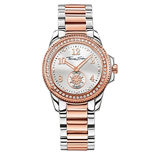 Thomas Sabo Damen-Armbanduhr WA0236-272-201-33mm