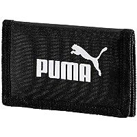 PUMA Phase Wallet, Portafoglio Unisex-Adulto, Nero, Taglia Unica