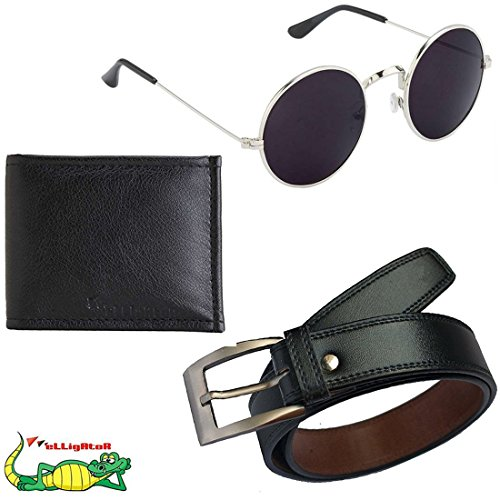 Elligator-Mens-Belt-Wallet-and-Sunglass-Summer-Special-Combo