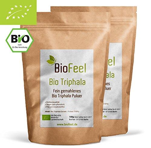 BioFeel - Bio Triphala Pulver - 200g