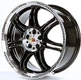 Momo Corse Black Polished 18x8 ET35 5x120 Llantas de aleación (Coche)