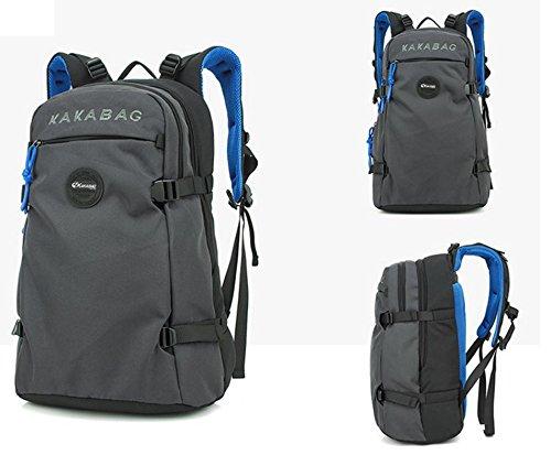 ROBAG Rucksack Männer outdoor-Reisen getrennt mehrschichtige Speicherung Businesstaschen Reisetaschen gray