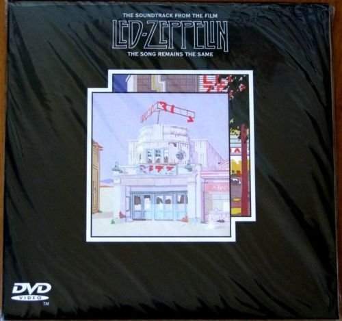 The Songs Remains The Same 2 CD + DVD NTSC Set In Mini LP Paper Sleeve -