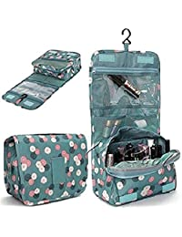 PETRICE Multi Functional Travel Organizer Accessory Toiletry Cosmetics Bag Makeup Or Shaving Kit Pouch For Men and Women (Color and Design May Vary)