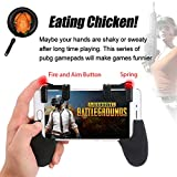 #6: Ocamo Sensitive Shoot and Aim Keys Shooter Controller Mobile Gaming Trigger for PUBG Games Black