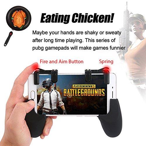 Meiyiu Gaming-Trigger Sensitive Schieß- und Zieltasten Shooter Controller Mobile Gaming Trigger für PUBG Spiele