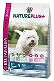 Eukanuba NaturePlus+ weizenfreies Trockenfutter für kleine Rassen, reich an gefrierfrischem Lachs, 2,3kg, 1er Pack