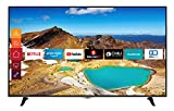 Telefunken XU65H529 165 cm (65 Zoll) Fernseher (4K Ultra HD, HDR10, Dolby Vision HDR, Triple Tuner, Smart TV, Prime Video, Bluetooth)