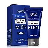 Enthaarungs Creme Haar Abbau Achselhöhlen Arm Bein Haar schmerzfreies Entfernen 60ML für Männer Schönheits Badekurort
