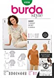 Best Tools Supply V Neck T Shirts - Burda Craft Sewing Pattern 8998 - T-Shirt Sizes: Review