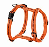 Hunter Hundegeschirr Power Grip Vario Rapid, S, orange, Nylon