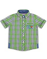 The Essential One - Baby Kids Boys - Adventures Shirt - 3-4 Years - Green - EOT259