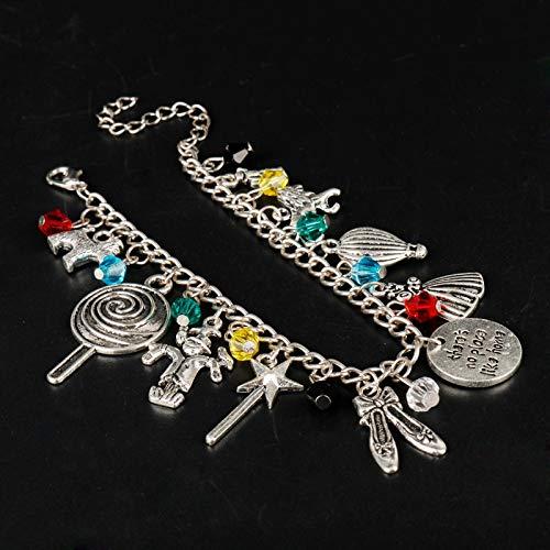 IJEWALRY Damenarmband Armbänder Armband,Mode Persönlichen Eleganten Bettelarmband Gibt Es Keinen Platz Wie Zu Hause Armreif Frauen Mädchen Märchen Armband Zubehör (Märchen-outfits Mädchen Für)