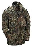 T-Shirt im Bundeswehr-Stil, Flecktarn Gr. Medium, Herstellergrösse 6, grün