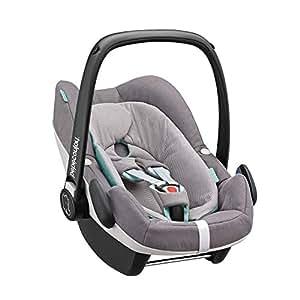 Bébé Confort Cabriofix Seggiolino Auto, Colore Grigio (Concrete Grey)