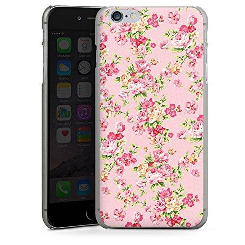 Apple iPhone X Silikon Hülle Case Schutzhülle Rosen Frühling Blumen Hard Case anthrazit-klar