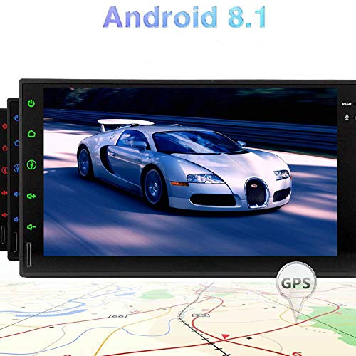 EINCAR Android 8.1 Doble DIN estéreo de 7 Pulgadas Quad-Core Coche Pantalla...