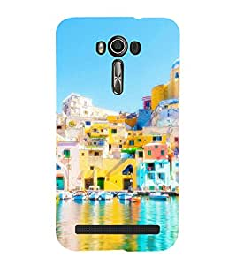 printtech Countryside Water Back Case Cover for Asus Zenfone 2 Laser ZE550KL / Asus Zenfone 2 Laser ZE550KL (5.5 Inches)