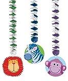 Amscan pezzi Animali della giungla stampato Dangling Cutout - Best Reviews Guide