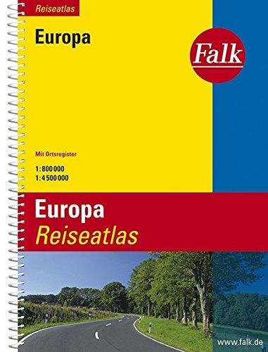 Falk Reiseatlas Europa (Falk Atlanten) Test