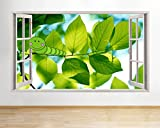 tekkdesigns F124Caterpillar Bug Kinderzimmer Kinder Fenster Wand Aufkleber 3D Kunst Aufkleber Vinyl Raum