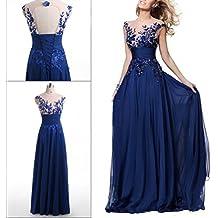promo code 99be7 62f26 Amazon.it: vestiti da sposa - Blu