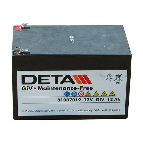 Preisvergleich Produktbild Vliesbatterie BTG 12V / 12Ah