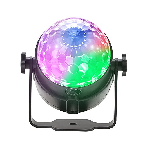 Docooler Mini Proiettore Luci LED 8W RGBP Magic Ball Luce