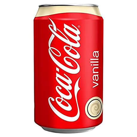 330ml Vanilla Coca Cola Paquete de 24 x 330 ml