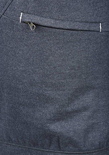 BLEND Cross Herren Kapuzenpullover Hoodie Sweatshirt aus hochwertiger Baumwollmischung Navy (70230)