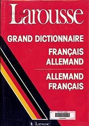 Grand dictionnaire français allemand [et allemand-français]