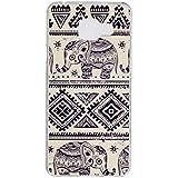 Qiaogle Téléphone Coque - Soft TPU Silicone Housse Coque Etui Case Cover pour Samsung Galaxy A3 (2016) SM-A310 (4.7 Pouce) - YH17 / éléphant