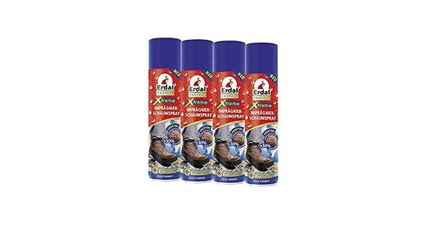 4x Erdal Protect Xtreme Imprägnier-Schaumspray 400 ml - Gegen Nässe & Schmutz