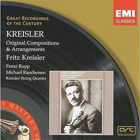 Kreisler Plays Kreisler-Original Compositions and Arrangements